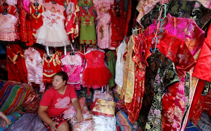 Berburu Cheongsam Baju Khas Imlek di Bangkok