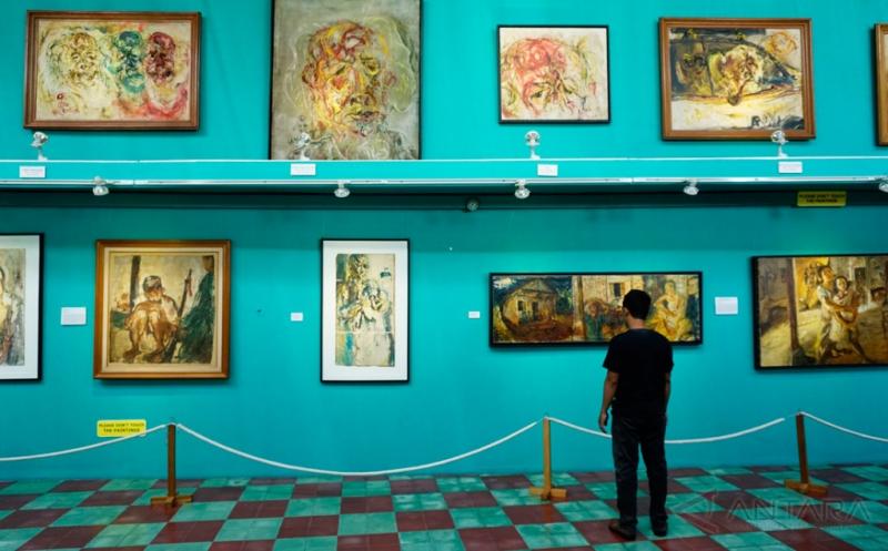 300 Karya Maestro Affandi Koesoema Dipamerkan di Museum Ini