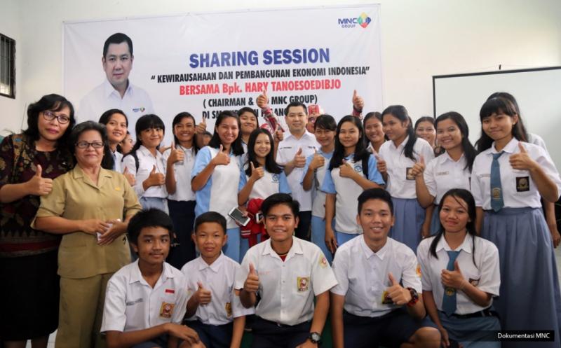 Pesan Hary Tanoe untuk Siswa SMA di Palangka Raya, Jadilah Pengusaha Produktif