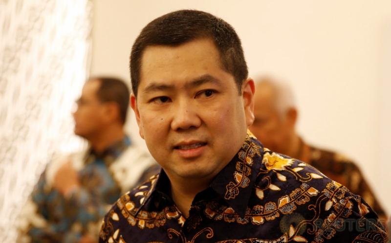 Hary Tanoe Hadiri Pembukaan Perdagangan Bursa Efek Indonesia
