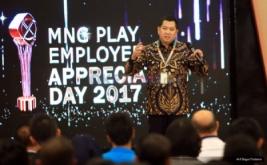 <p>  MNC Play Employee Appreciation Day 2017 memberikan penghargaan lebih dari 60 karyawan berprestasi dari 4 (empat) direktorat yang terdapat di dalam MNC Play.</p>