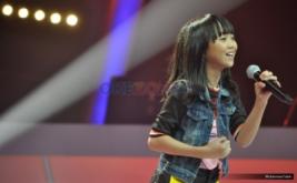 Sharon dan Paundra Bawakan Lagu Maria Carey di Babak Duet Battle Indonesia Idol Junior