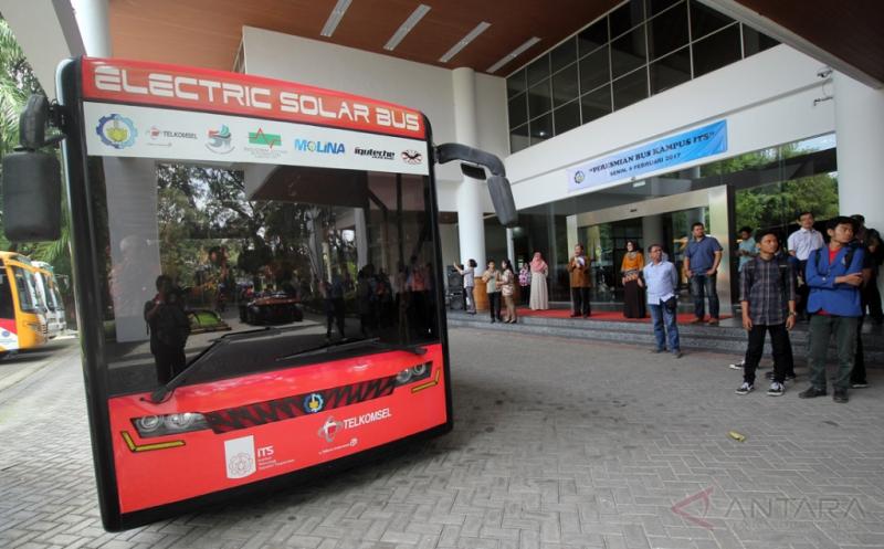 Bus Ramah Lingkungan untuk Mobilitas Mahasiswa ITS