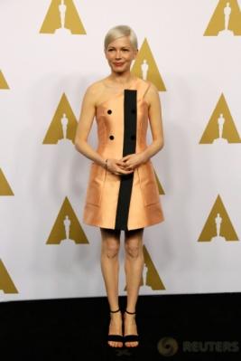 OSCAR 2017: Aktris Michelle Williams Hadiri Oscar ke-89