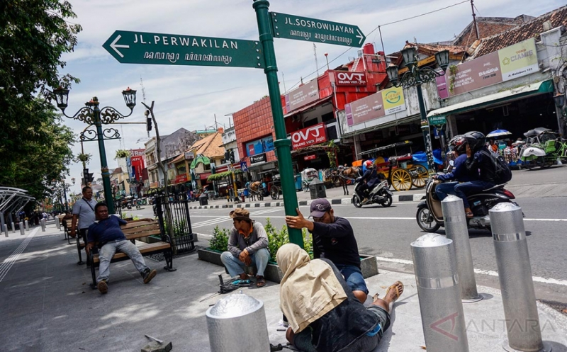 Berikan Rasa Nyaman Wisatawan, Kawasan Malioboro Dipasang Penunjuk Arah Wisata