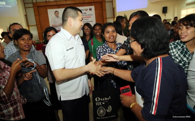 Hary Tanoe Dorong Mahasiswa STAKPN Ambon Tekuni Entrepreneurship