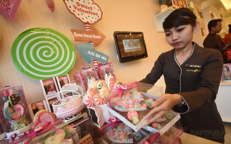 Penjualan Coklat Jelang Valentine Naik Tajam