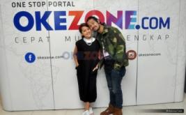 Kunjungan Chicco Jerikho dan Lala Karmela di Okezone