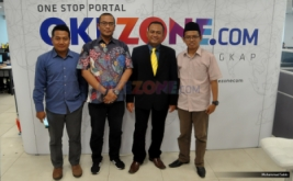 "Suasana diskusi Redbons yang bertajuk ""Menakar Peta Perpolitikan Pasca Pencoblosan"" di kantor Okezone, Jakarta, Kamis (16/2/2017).Diskusi tersebut membahas tentang Pencoblosan pada Pemilihan Gubernur (Pilgub) DKI Jakarta 2017 telah berakhir."