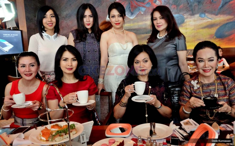 High Tea With HighEnd Bersama Liliana Tanoesoedibjo