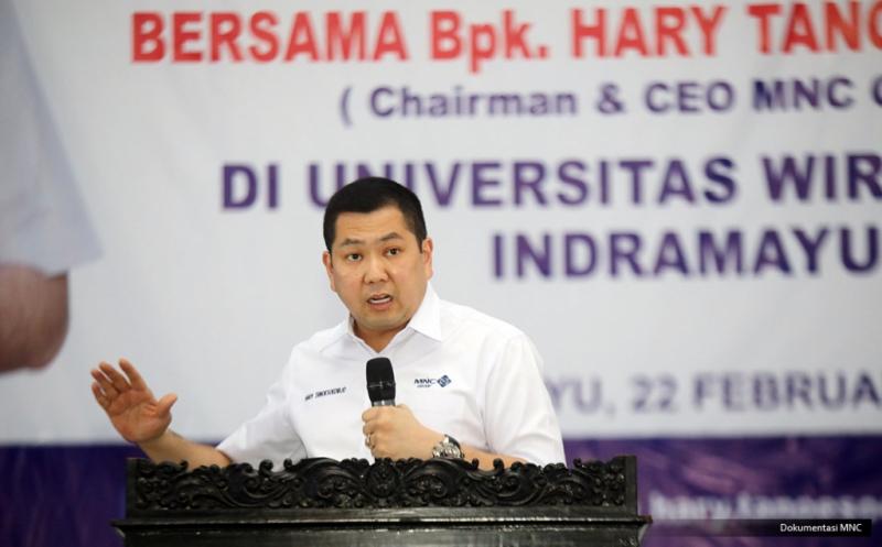 Hary Tanoe Berbagi Kisah Sukses Bangun Usaha kepada Mahasiswa Universitas Wiralodra Indramayu