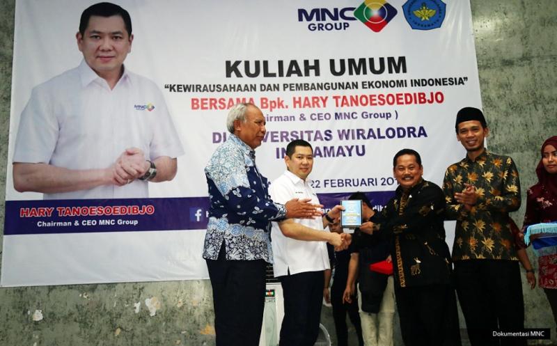 10 Mahasiswa Universitas Wiralodra Indramayu Terima Dana Pendidikan dari Hary Tanoe