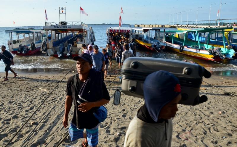 Pelabuhan Bangsal Layani 3 Destinasi Wisata di Lombok