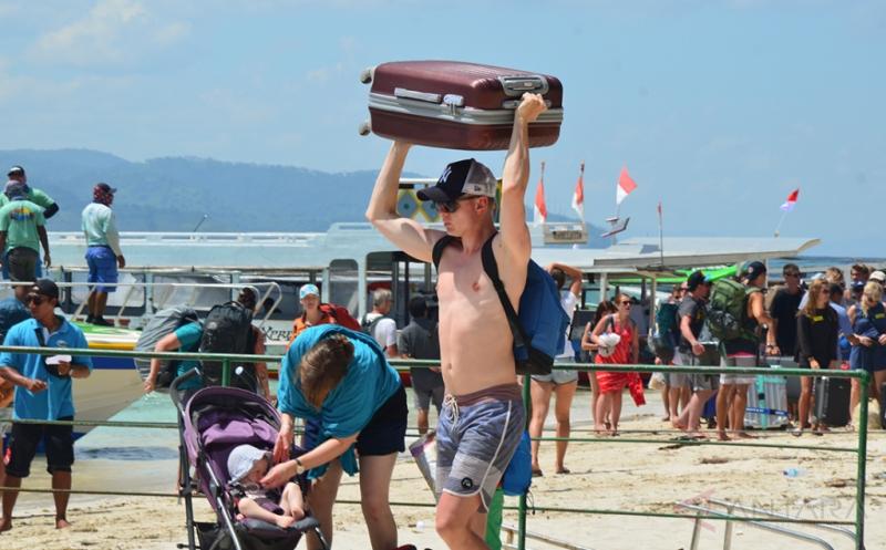 WOW!!! Setiap Hari Gili Trawangan Dikunjungi 1.600 Wisatawan