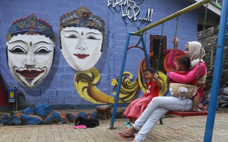 Kampung Eks Gelandangan dan Pengemis Dirubah Menjadi Kampung Wisata Topeng