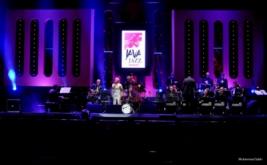 Kolaborasi Dira Sugandi dengan Jazz Orchestra di Java Jazz Festival 2017