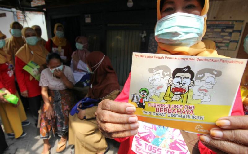 Gerakan Ketuk Pintu Rumah Warga Sambut Hari TB