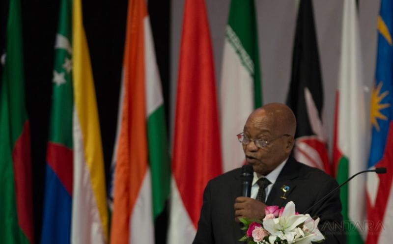 KTT IORA 2017, Presiden Afsel Bicara Pertumbuhan Berkelanjutan dan Adil di Samudera Hindia