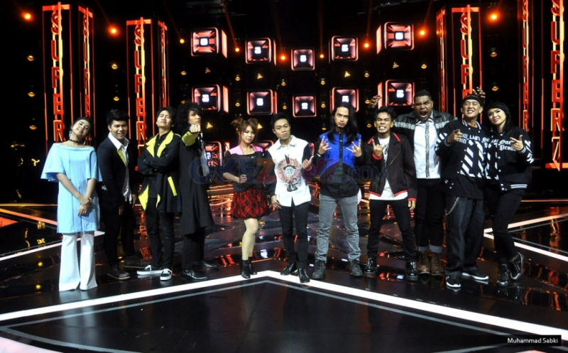 Babak Super 7 Rising Star Indonesia