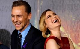 Senyum dan Tawa Tom Hiddleston Bersama Brie Larson