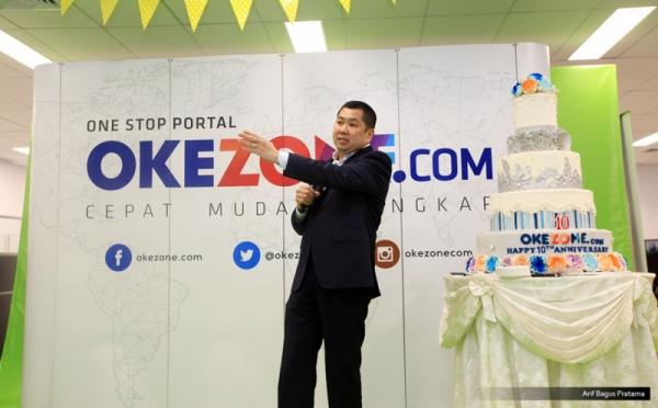 Ultah ke-10 Okezone, Hary Tanoe Movitasi Ratusan Karyawan Okezone