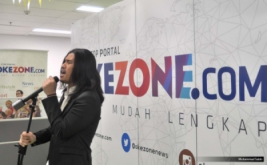 Virzha Meriahkan HUT ke-10 Okezone.com