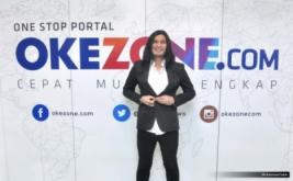 Penyanyi Virzha saat membawakan single lagu di kantor Okezone.com, gedung iNews, Jakarta, Senin (13/3/2017). Merayakan kemeriahan HUT Okezone ke-10 sejumlah artis turut serta terlibat dan mengucap selamat kepada okezone.