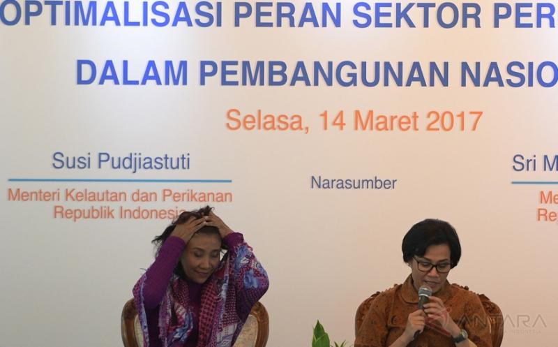 Ketika 2 Menteri Perempuan Duduk Bersama dalam Dialog Optimalisasi Sektor Perikanan