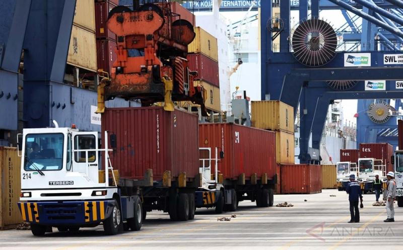 BPS, Nilai Ekspor Bulan Februari Alami Penurunan 6,17%