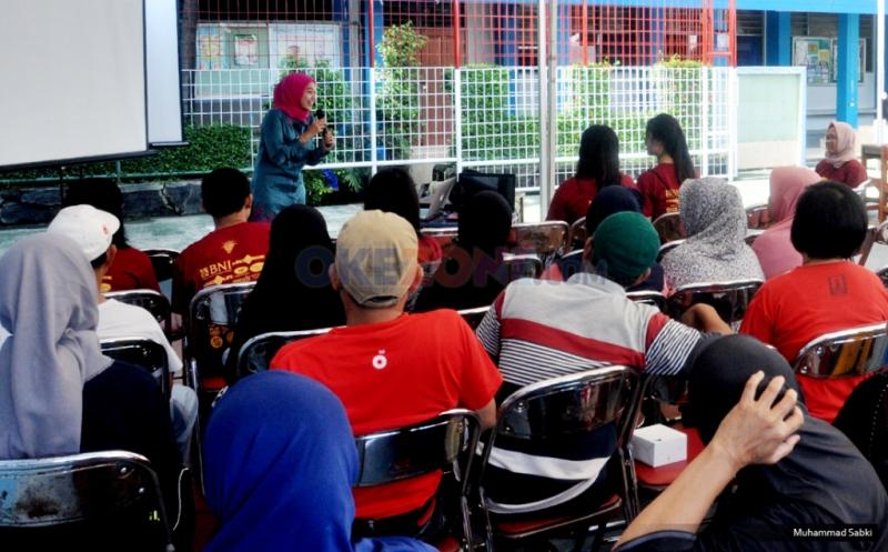MNC Bank Berikan Bantuan Pengobatan Gratis di SMPN 182 Jakarta