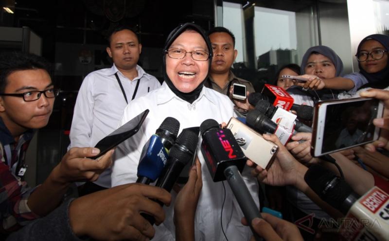 Sambangi KPK, Tri Rismaharini Konsultasi Soal Aset Pemkot Surabaya
