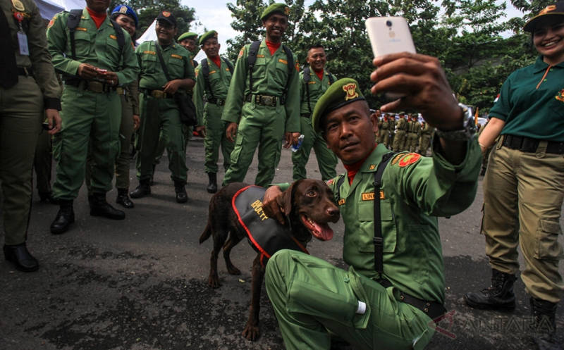 HUT Satpol PP dan Satlinmas Bertajuk Merawat Kebinekaan Demi Indonesia