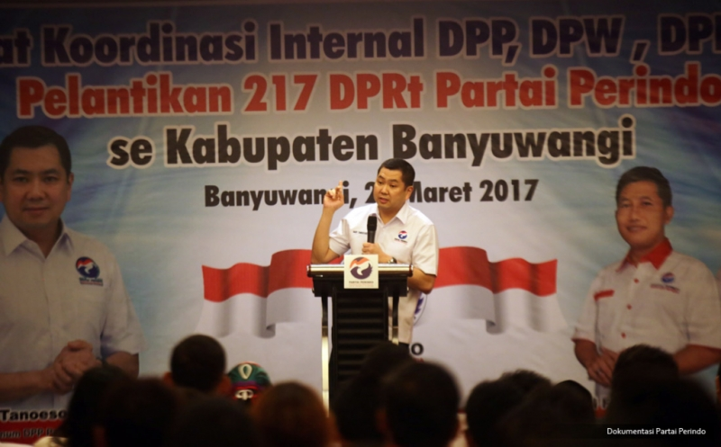 Hary Tanoe Minta Kader Perindo Tingkatkan Militansi Kawal NKRI Jadi Negara Maju