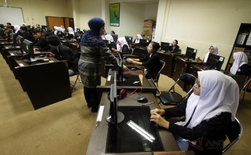 Yuk, Tengok Pelaksanaan UNBK di Jakarta dan Sejumlah Daerah!
