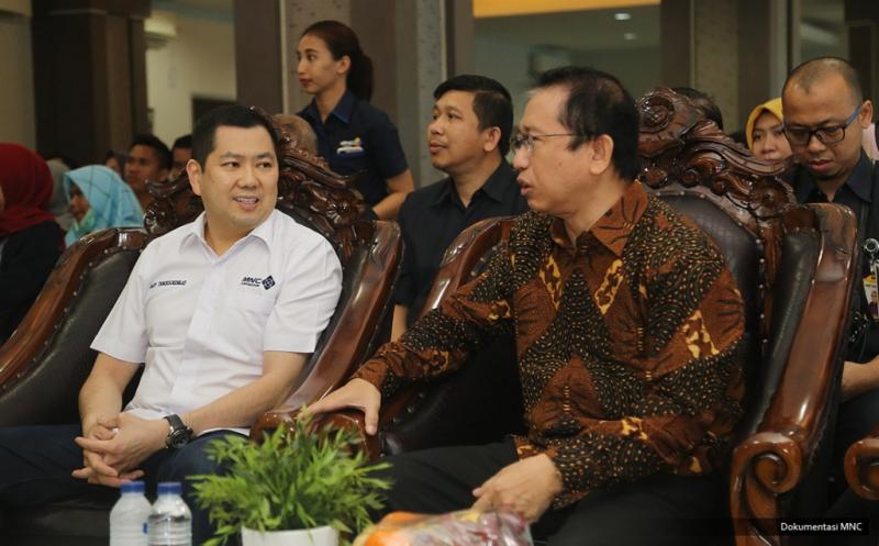 Hary Tanoe Disambut Hangat Marzuki Alie di UIGM Palembang