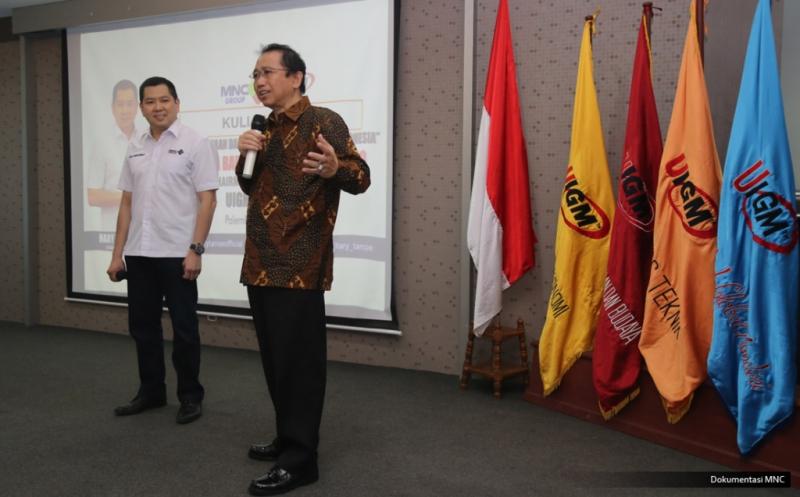 Hary Tanoe Motivasi Ratusan Mahasiswa UIGM Palembang