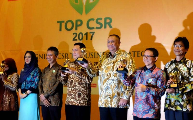 MNC Group Raih 4 Penghargaan Top CSR 2017