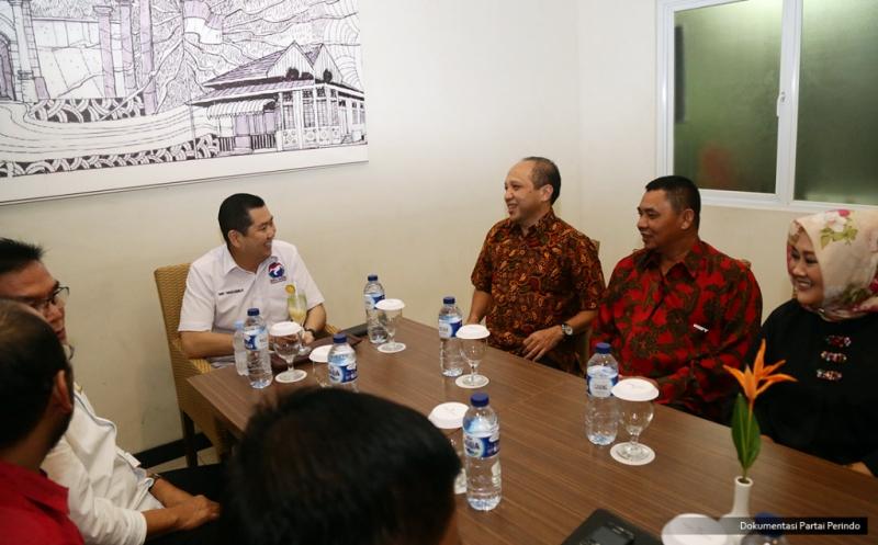 Hary Tanoe Dialog dengan Pengusaha di Bengkulu