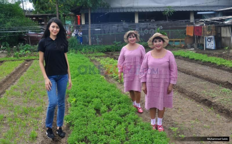 Ketika Natasha Mannuela Bercengkrama dengan Siswa Sekolah Darurat Kartini