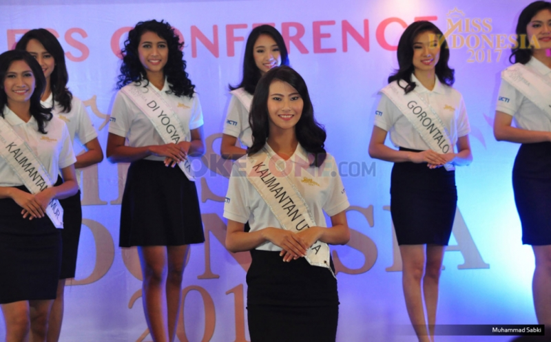 MISS INDONESIA 2017: 34 Finalis Akan Perebutkan Mahkota Miss Indonesia 2017