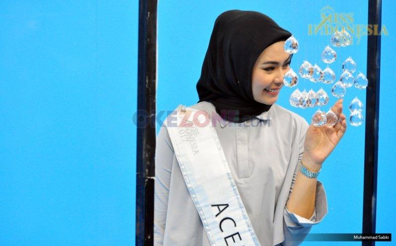 MISS INDONESIA 2017: Finalis Asal Aceh Sekar Audifa