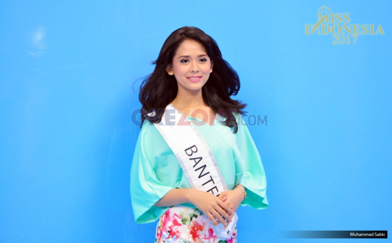 MISS INDONESIA 2017: Finalis Asal Banten Givina Lukitadewi