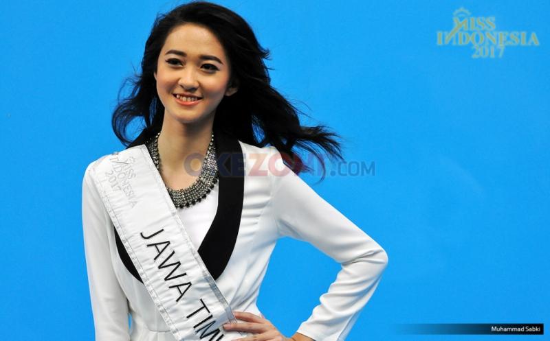 MISS INDONESIA 2017: Finalis Asal Jawa Timur Vivian Tania