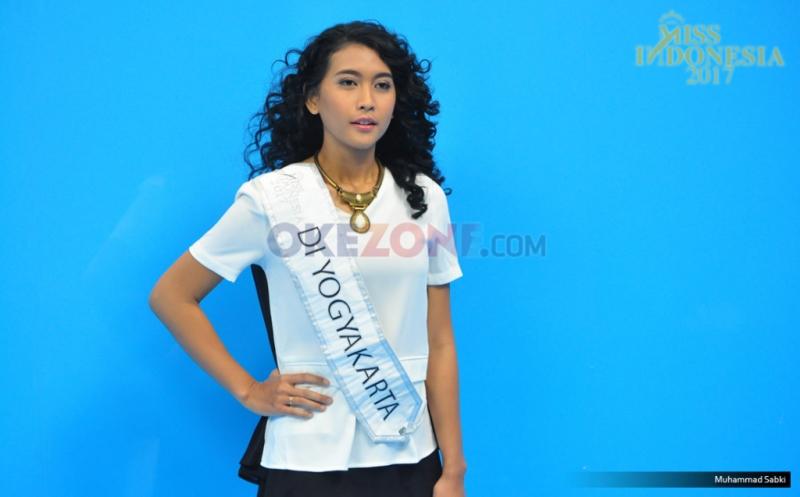 MISS INDONESIA 2017: Finalis Asal DI Yogyakarta Anja Litany Ariella
