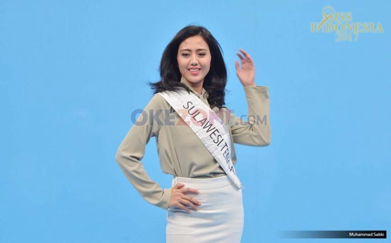 MISS INDONESIA 2017: Finalis Asal Sulawesi Tengah Adhetya Ghazitha Kasim