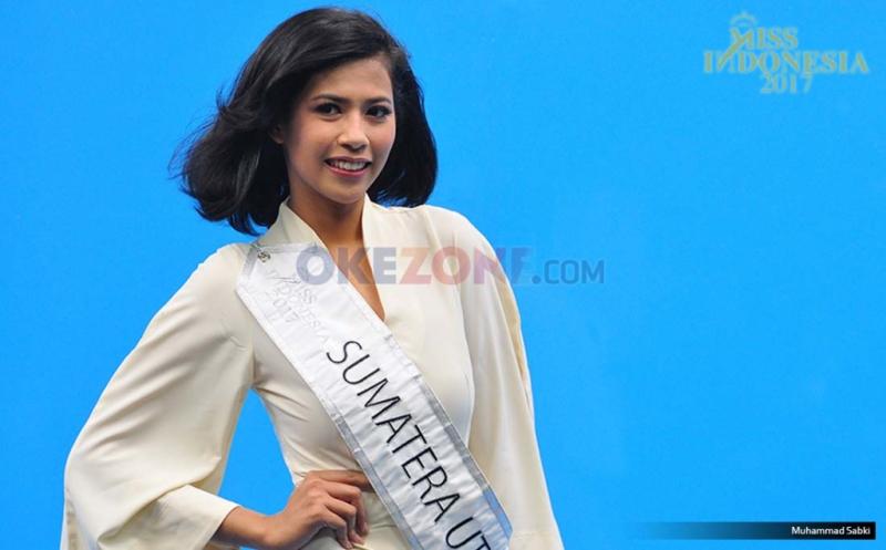 MISS INDONESIA 2017: Finalis Asal Sumatera Utara Friska Olivia Panggabean