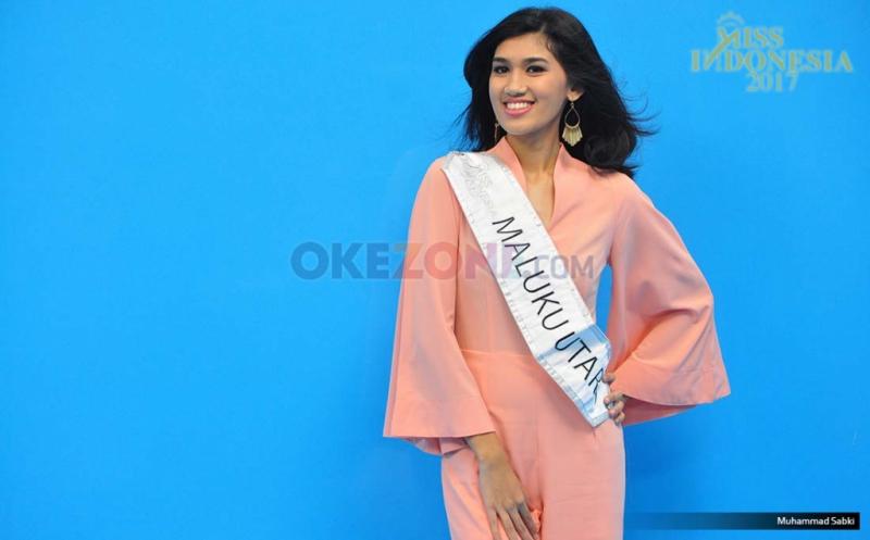 MISS INDONESIA 2017: Finalis Asal Maluku Utara Abigail Bianca Mckenzie