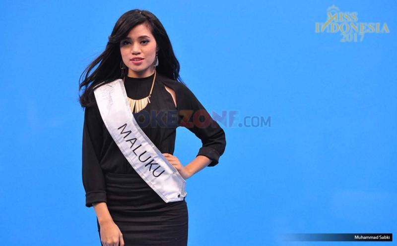 MISS INDONESIA 2017: Finalis Asal Maluku Stella Natalia Mulia