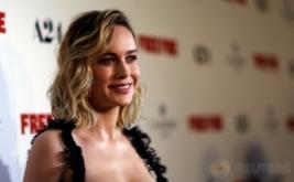 Tampil Seksi, Brie Larson dengan Gaun Hitam