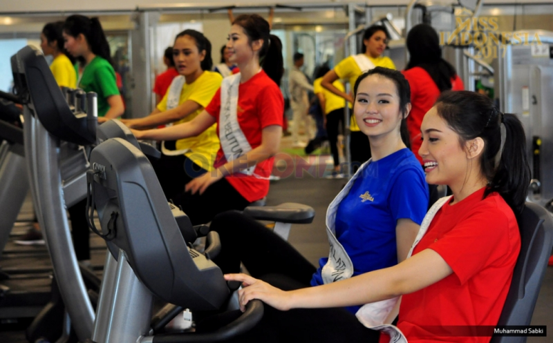 MISS INDONESIA 2017: Fast Track Sport Competition